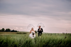 calgary wedding photographers, intimate backyard wedding
