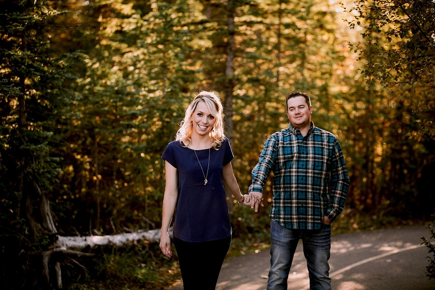calgary wedding photographers | griffith woods engagement photos