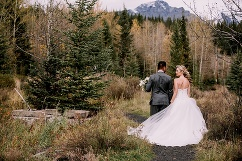 calgary wedding photographers, canadian rockies wedding, rocky mountain bride
