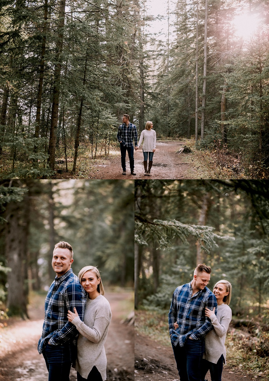 calgary wedding photographer, fish creek park engagement photos
