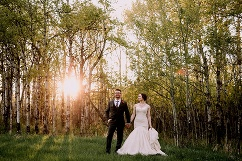 calgary wedding photographer, intimate private estate wedding