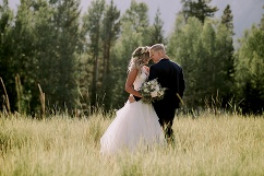 canmore wedding photographer, cornerstone theatre wedding, willow flower company
